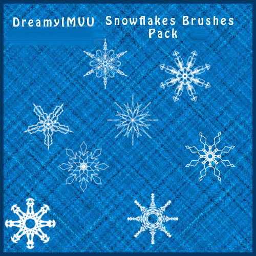 ABR Brushes - Fancy Snowflake Brushes Part 4