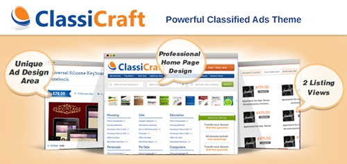 Inkthemes - ClassiCraft v1.1.4 - Classified Ad Listing WordPress Theme