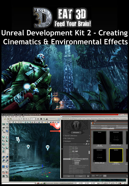 Eat3D - Unreal Development Kit 2: Creating Cinematics & Environmental Effects
