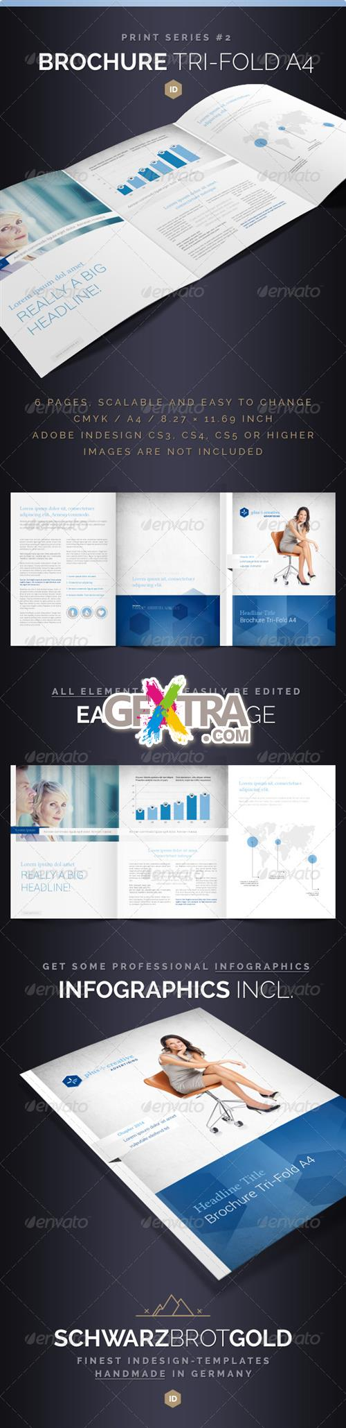 GraphicRiver - Brochure Tri-Fold A4 Series 2