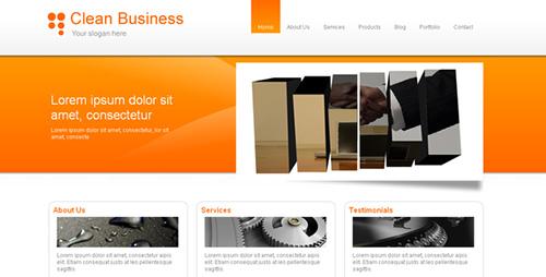 ThemeForest - Clean Business & Portfolio - RIP