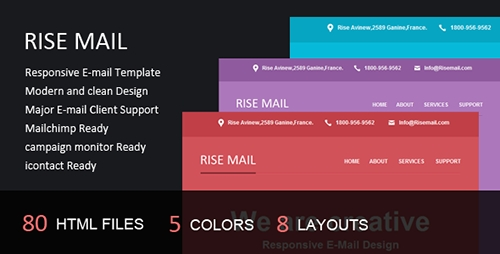 ThemeForest - Rise Mail - Responsive E-mail Template - RIP