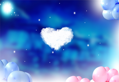 PSD Source - Love Backgrounds With Heart For Valentines Day