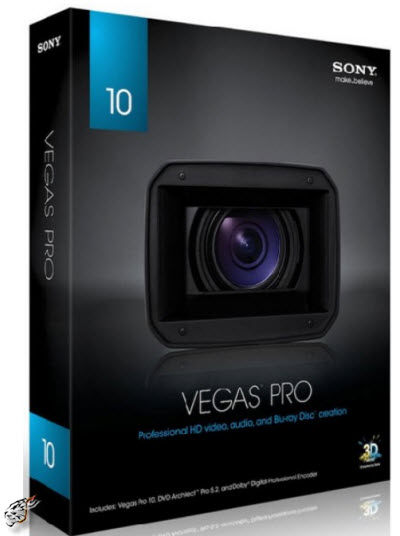 Sony Vegas 10b build 467 x86,x64 - 2010 Multilingual
