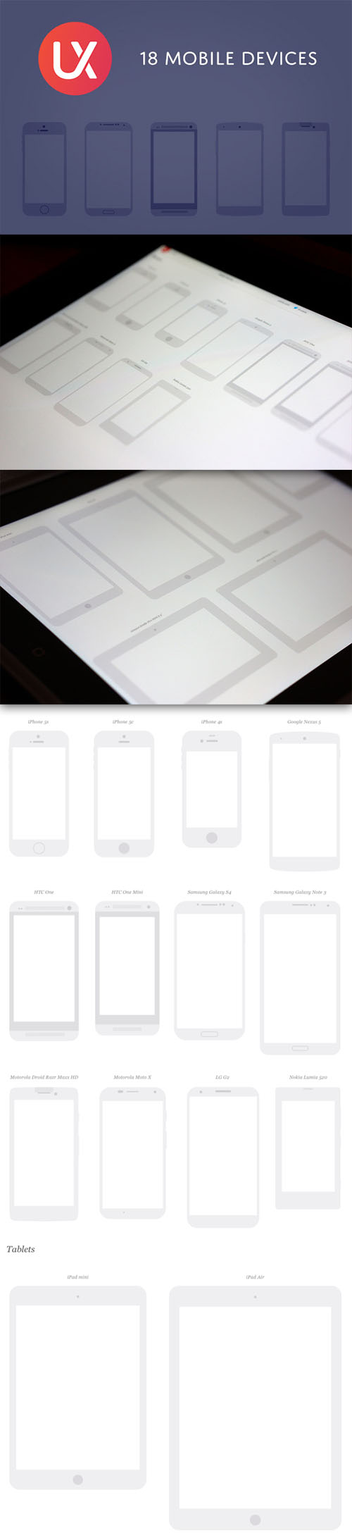 Mobile Devices Vector Kit
