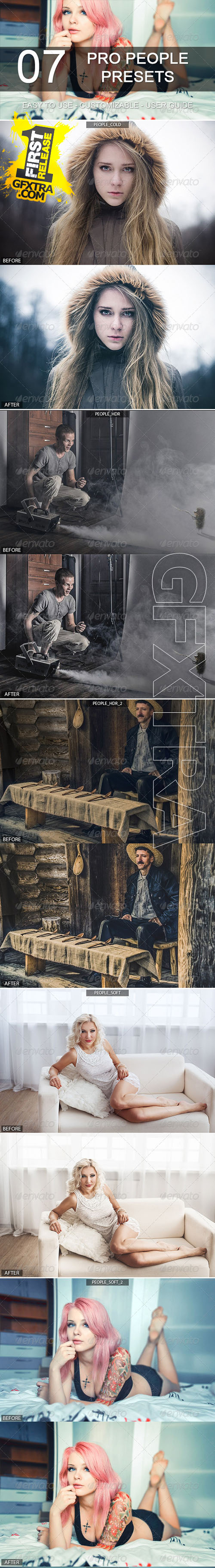 GraphicRiver - 7 Pro People Presets 6285711