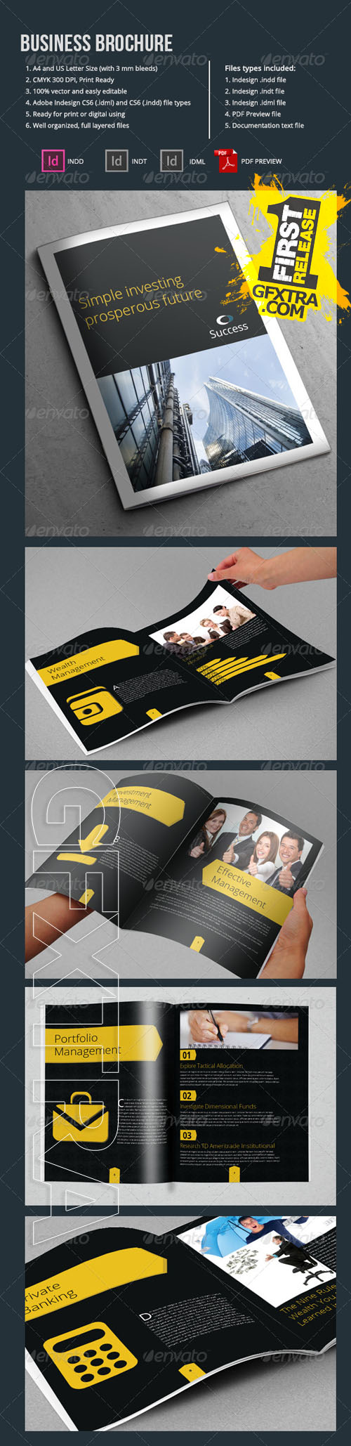 GraphicRiver - A4 Business Brochure Template 10 Pages 6791489