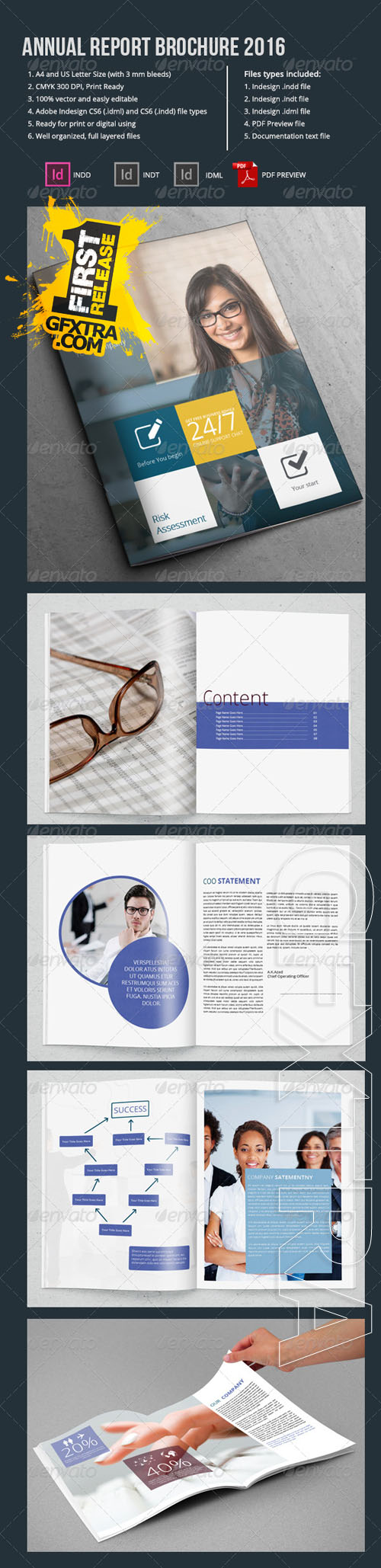 GraphicRiver - Annual Report Brochure 2016 6767933