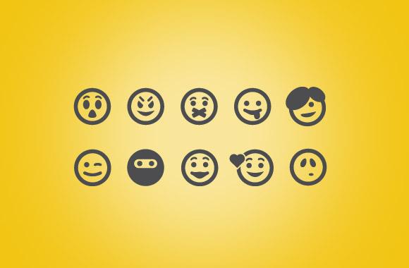 25 Vector Emoticons