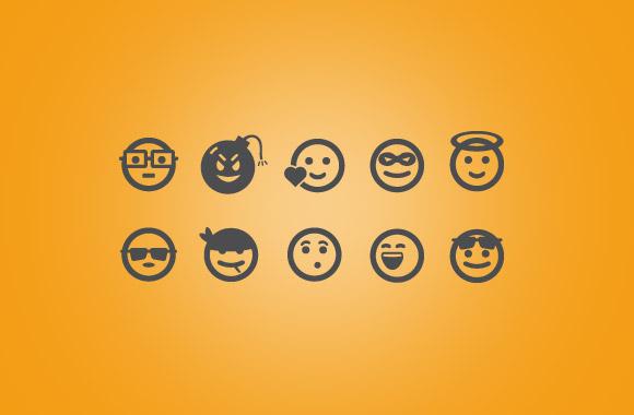 25 Vector Emoticons Vol-2