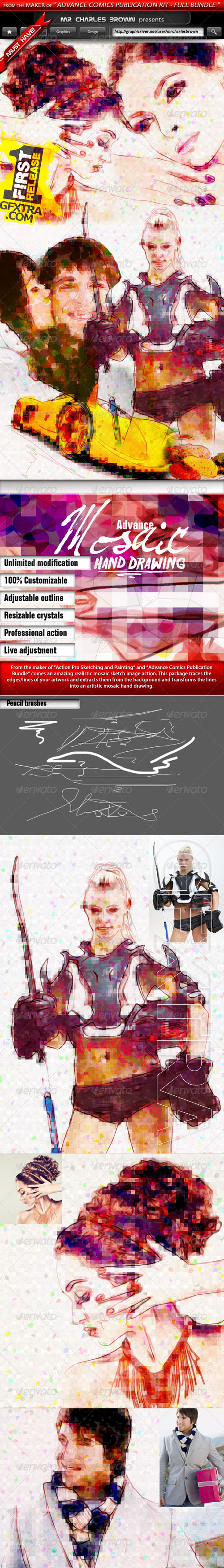 GraphicRiver - Advance Mosaic Hand Drawing 5565178