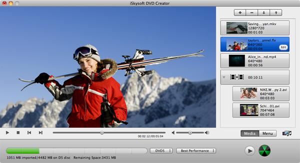Скачать iSkysoft DVD Creator for Mac 3.6.3. Дата релиза. Convert video to