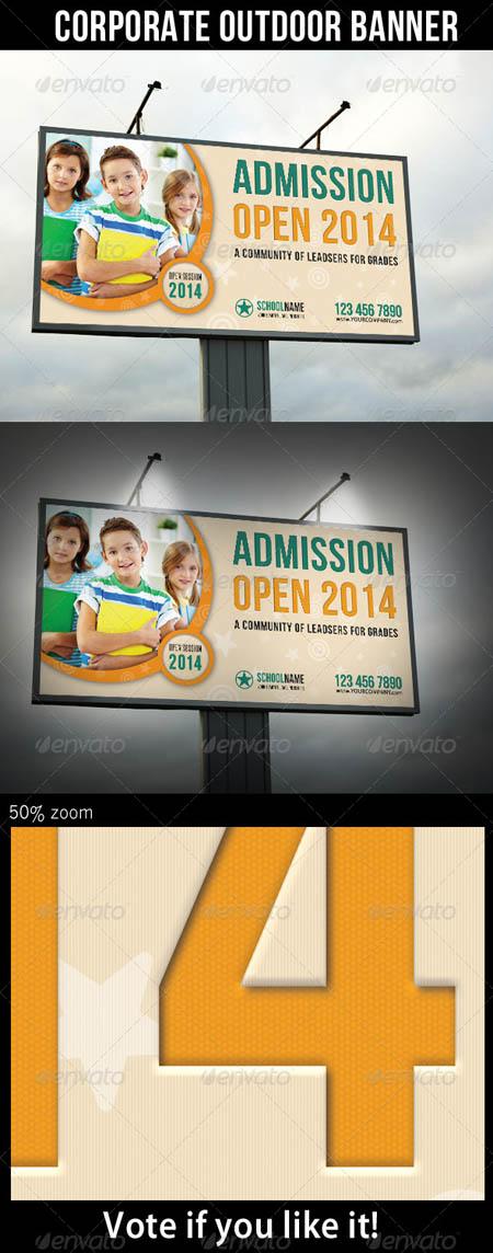 Junior School Promotion Outdoor Banner 01 6913122