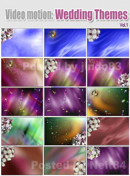 Video Motion - Wedding Themes Vol 1 » Download Graphic GFX Stock458