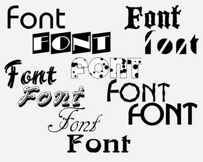 Fonts for Adobe Photoshop Western fonts