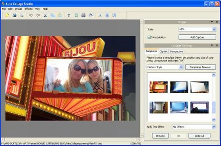 AMS Software Auto Collage Studio 3.27 Portable
