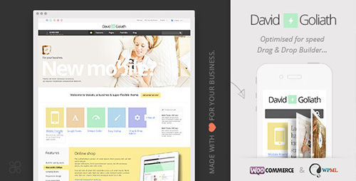 ThemeForest - David & Goliath v6 - Responsive Business Portfolio