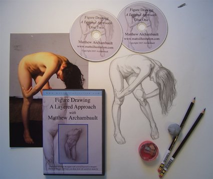 Matthew Archambault - Figure Drawing CD1 & CD2