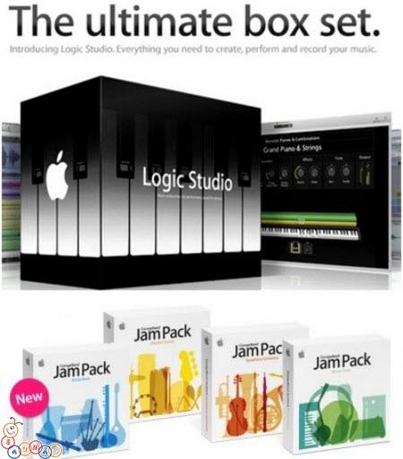 Apple Logic Studio 9 Audio Content for Mac (3 dvds)
