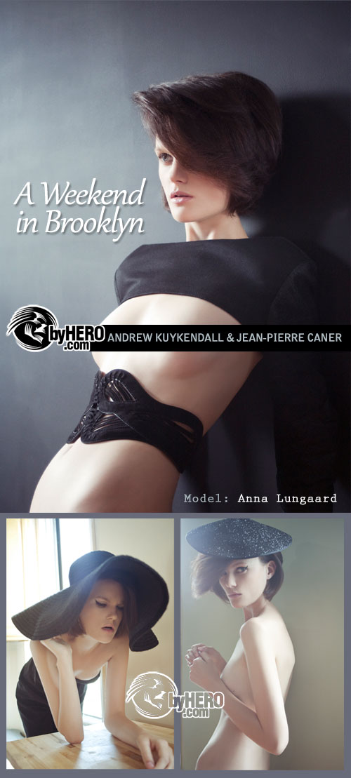 A Weekend In Brooklyn by Andrew Kuykendall & Jean-Pierre Caner, Model: Anna Lungaard