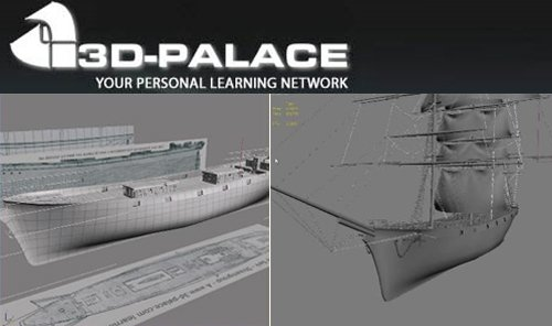 3D Palace The Cutty Sark For 3Ds Max DVD1-3