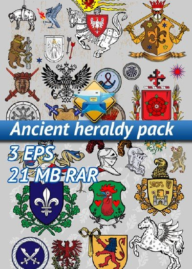 Ancient heraldy pack