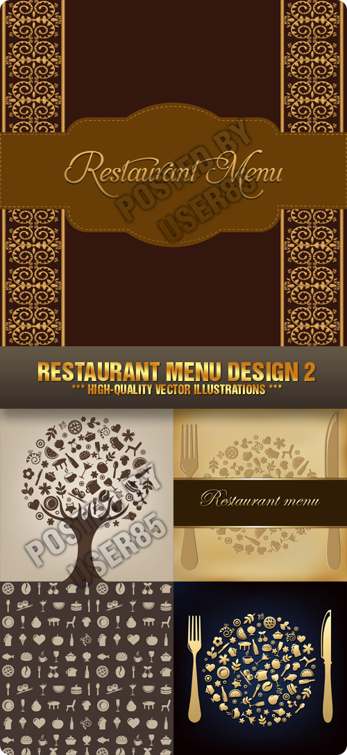 Stock Vector - Restaurant Menu Design 2