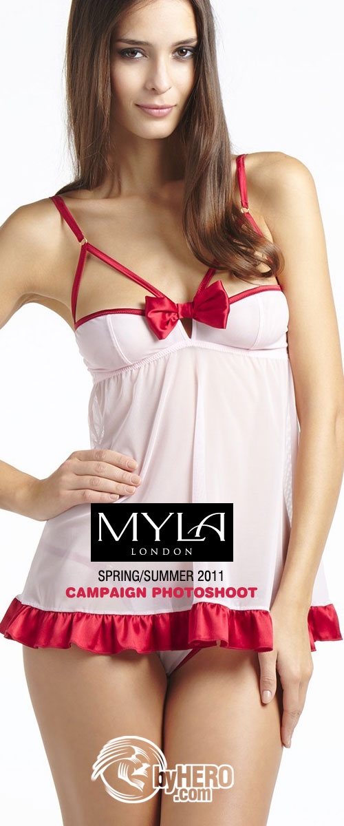 Myla Spring Summer 2011 Campaign Photoshoot