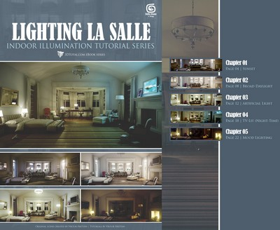 Lighting La Salle, 3DS Max & VRay - 3DTOTAL