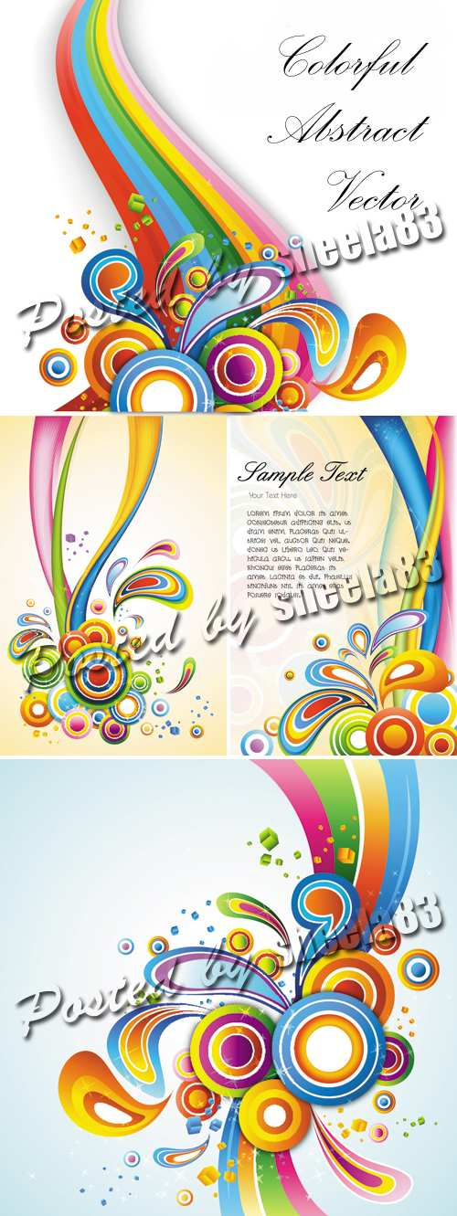 Colorful Abstract Backgrounds 2