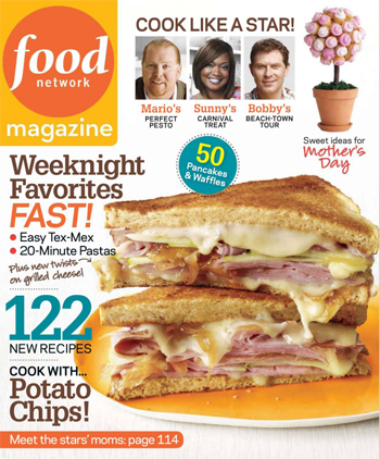 Food Network Magazine is the only food magazine out there that covers every