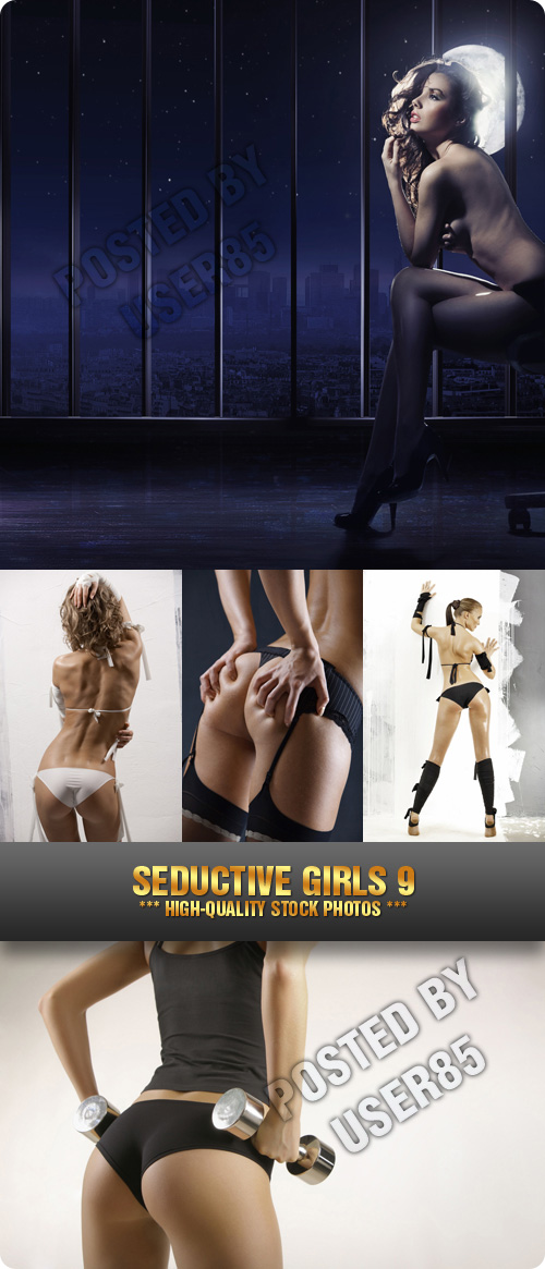 Stock Photo - Seductive Girls 9, 5xJPGs