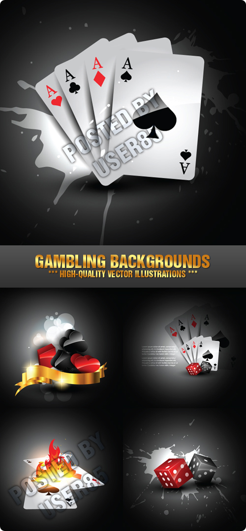Stock Vector - Gambling Backgrounds