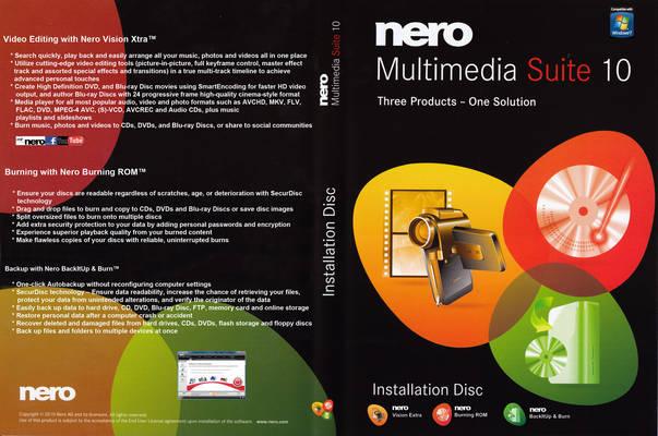 Nero Multimedia Suite 10 Multilanguage (1 dvd)