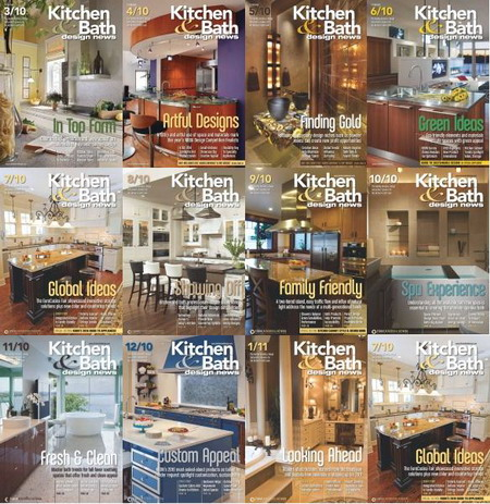 Kitchen & Bath Design News Magazine 2009.07 - 2010.12 Full Collection