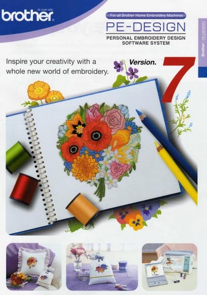 Pe Design 7 - Brother Embroidery Software   311.99 MB