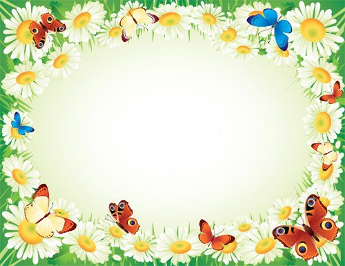 Spring Photoshop Frame