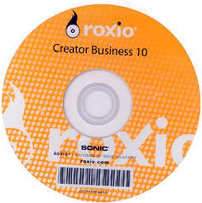 Roxio Creator Business 10   Windows OS