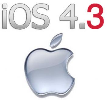 iOS 4.3 -GM for iPad