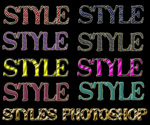 Bright Styles for Photoshop #9