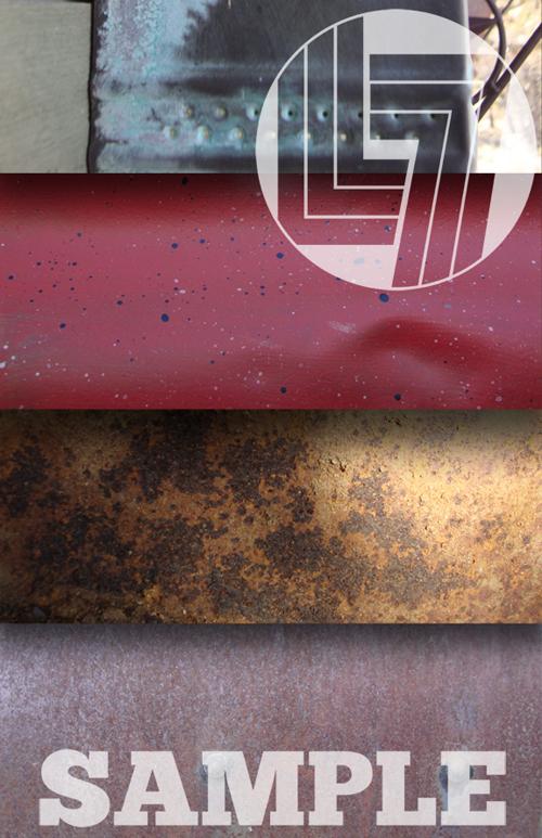 Metal and Rust Textures 200 HQ JPG JPEG