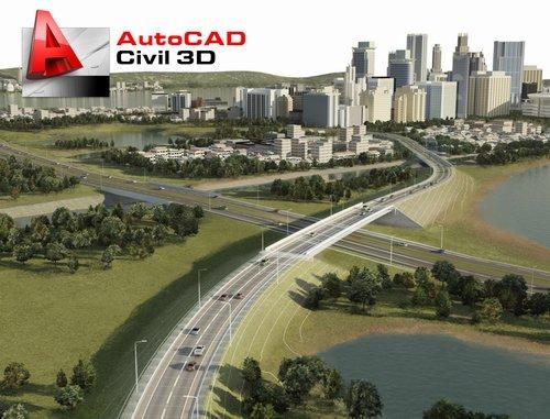 Autodesk AutoCAD Civil3D 2011 x64 (1 dvd)