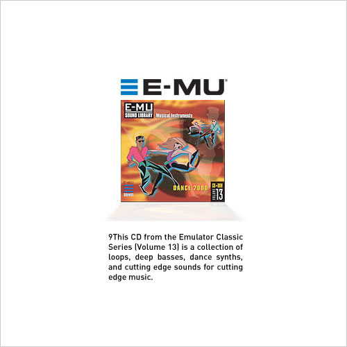 E-MU Classic Series Vol.13 Dance 2000 EMU (1 cd)