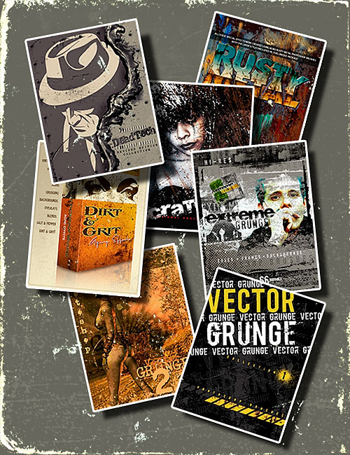 Photoshop Rons Grunge Bundle