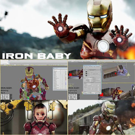 3DS Max Tutorials - Strob - Making Of Iron Baby
