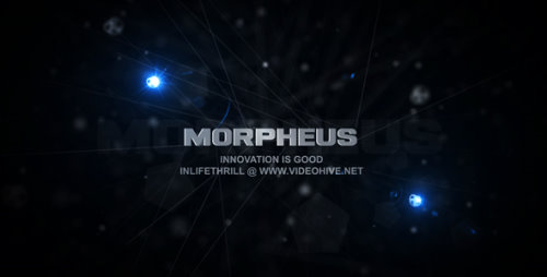 After Effects Project - Morpheus 134598