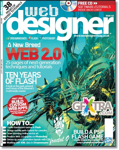 Web Designer | Issue 123 | 34.38MB | HF-SV-RS-DF