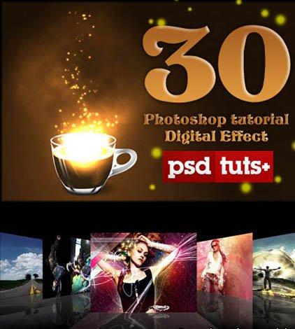 photoshop tutorials pdf. PHOTOSHOP Tutorial Digital Effect 2011. 1.57 GB | Pdf | PSD source