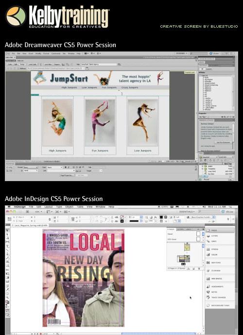 Kelby Training Adobe Dreamweaver CS5 Power Session (1 cd)