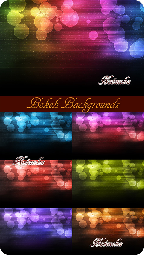 Bokeh Backgrounds - PSD Templates